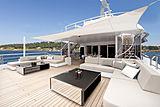 Mogambo yacht deck