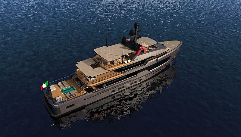 CRN Alfa Rosso yacht concept
