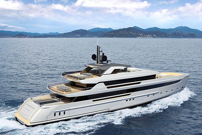 Sanlorenzo 62Steel yacht