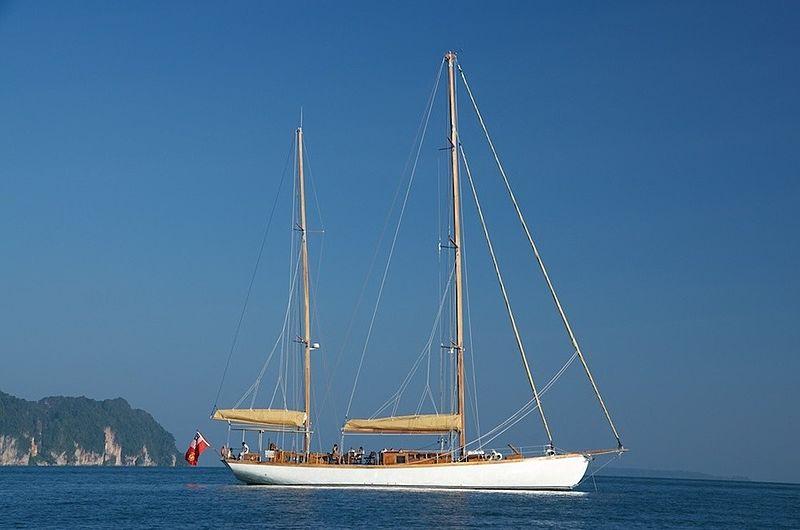AVENTURE yacht H.J Baso Shipyard