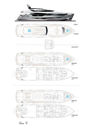 Dominator Ilumen 36m yacht GA