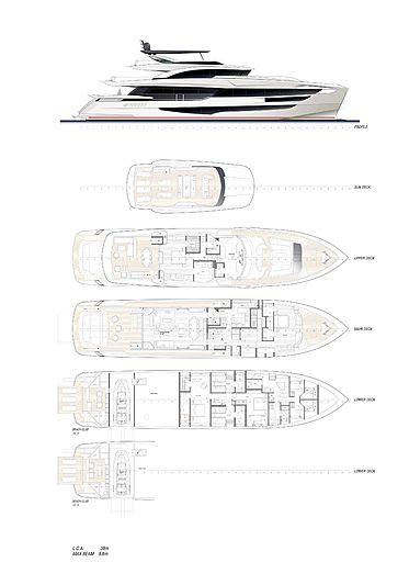 Dominator Ilumen 38m yacht GA