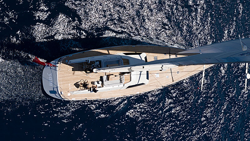 Yam yacht exterior