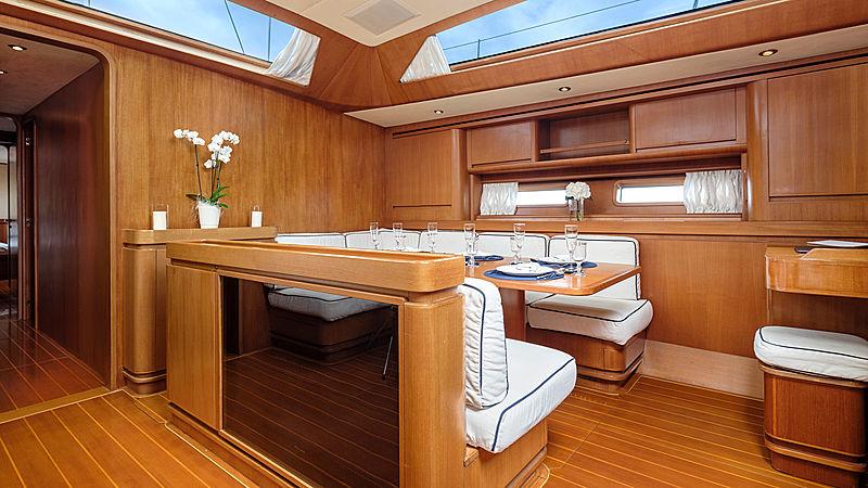 Yam yacht interior