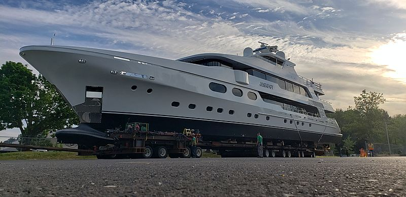 Jackpot yacht by Christensen launch