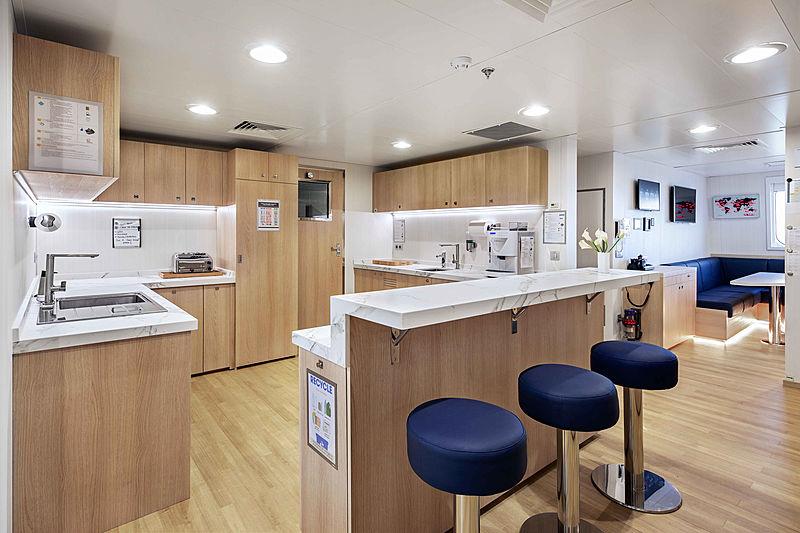 Hodor yacht interior - crew mess