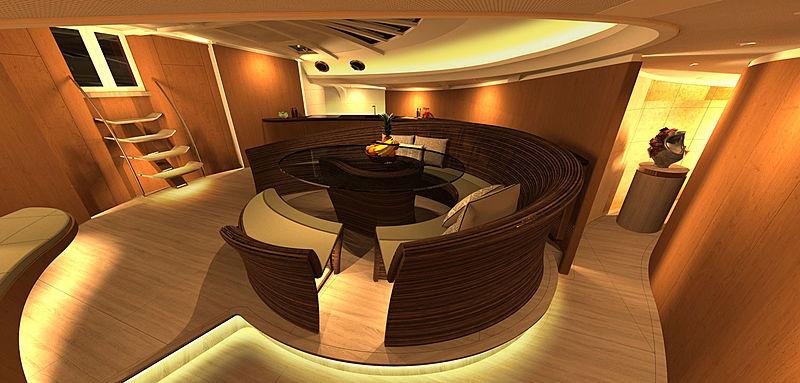 Spirit 111 yacht rendering
