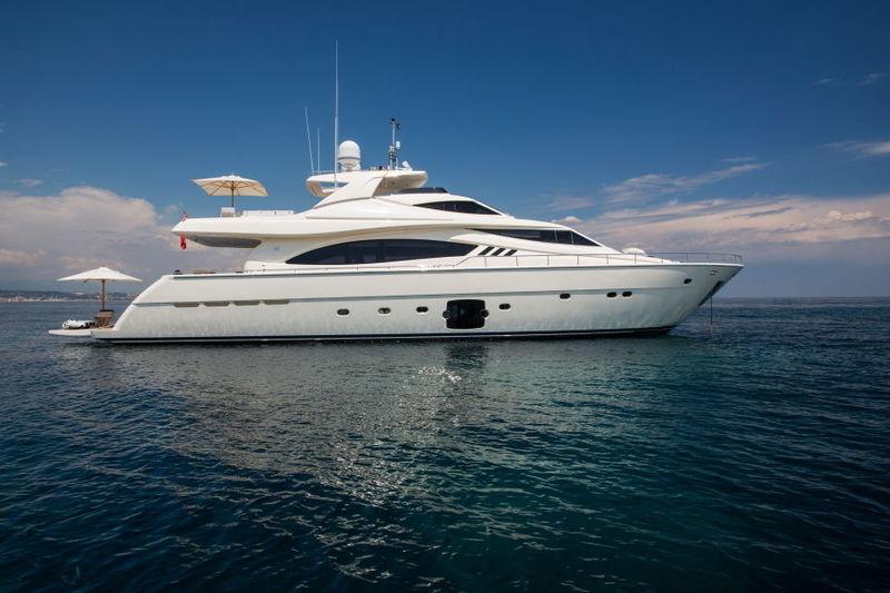 PORTHOS SANS ABRI yacht Ferretti Yachts