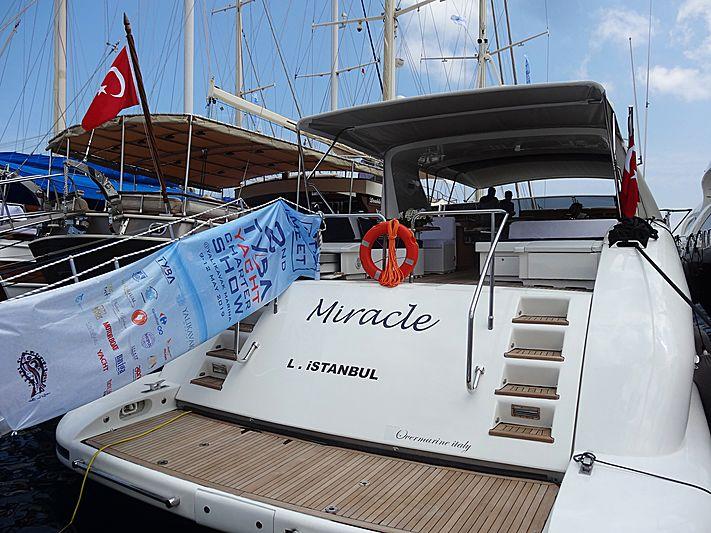 Miracle yacht in Yalikavak Marina
