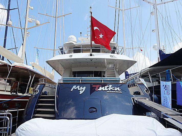 MY TUTKU yacht Dragos