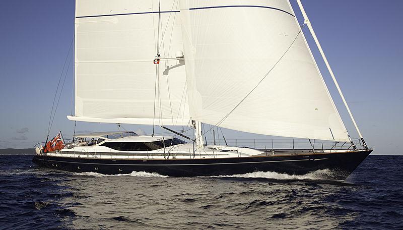 THANDEKA yacht Camper & Nicholsons Shipyard