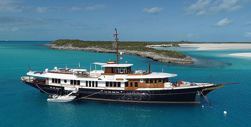 Nadan yacht anchored