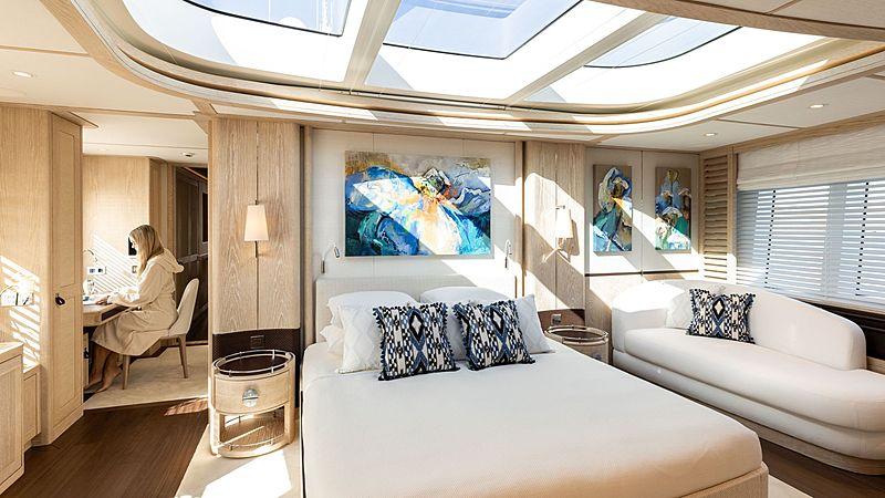 Calypso yacht stateroom