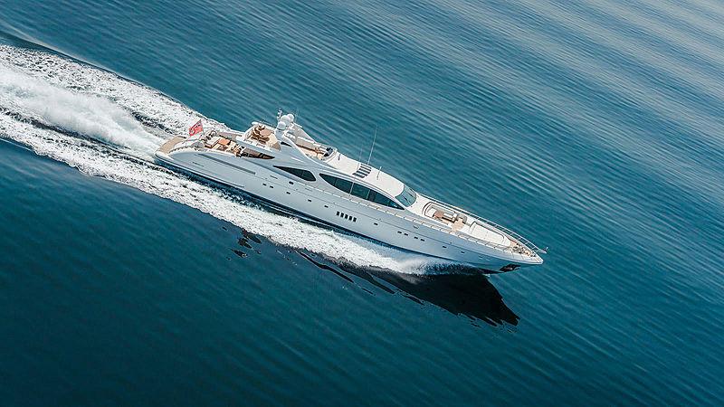 Samhana yacht cruising