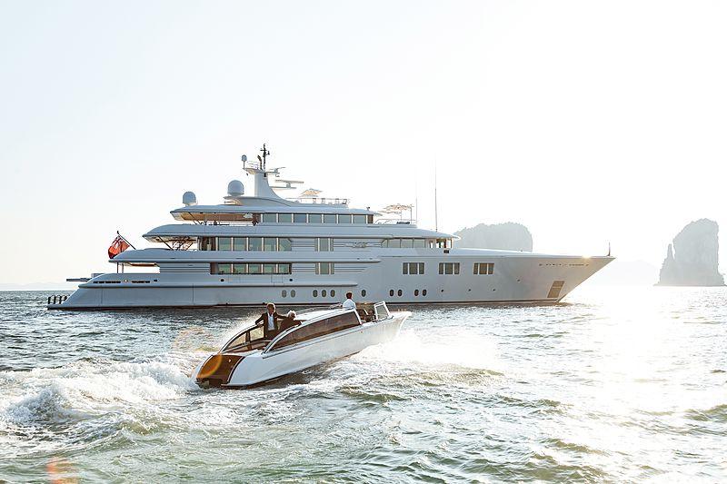 Lady E yacht tender