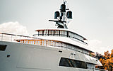 Feadship 818 yacht launch