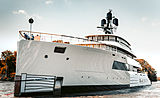 Feadship 818 Syzygy yacht launch