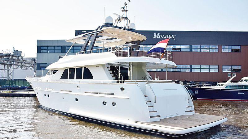 Adamas yacht at Mulder Shipyard