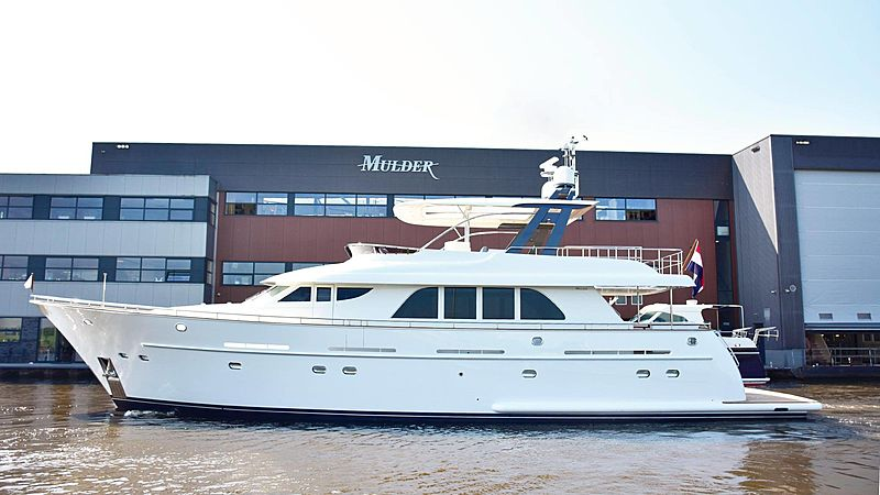 LAS NINAS yacht Mulder Shipyard