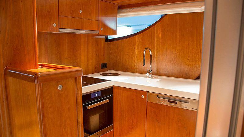Adamas yacht galley