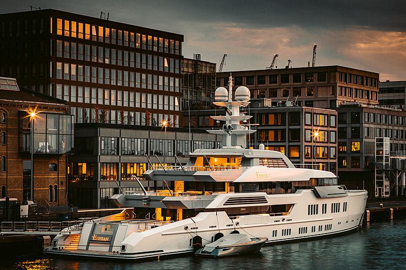 Elysian yacht by Lürssen in Amsterdam
