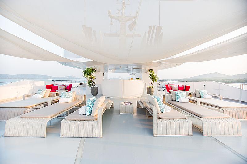 Saluzi yacht sundeck