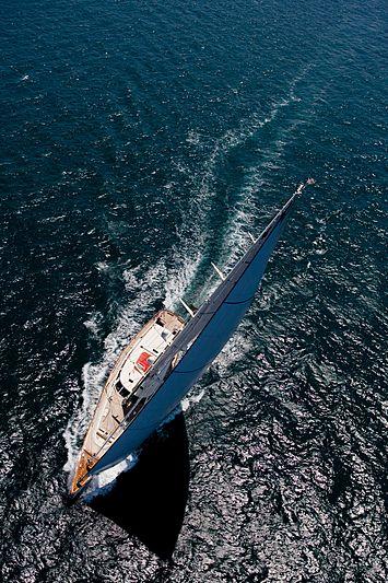 Heritage yacht sailing
