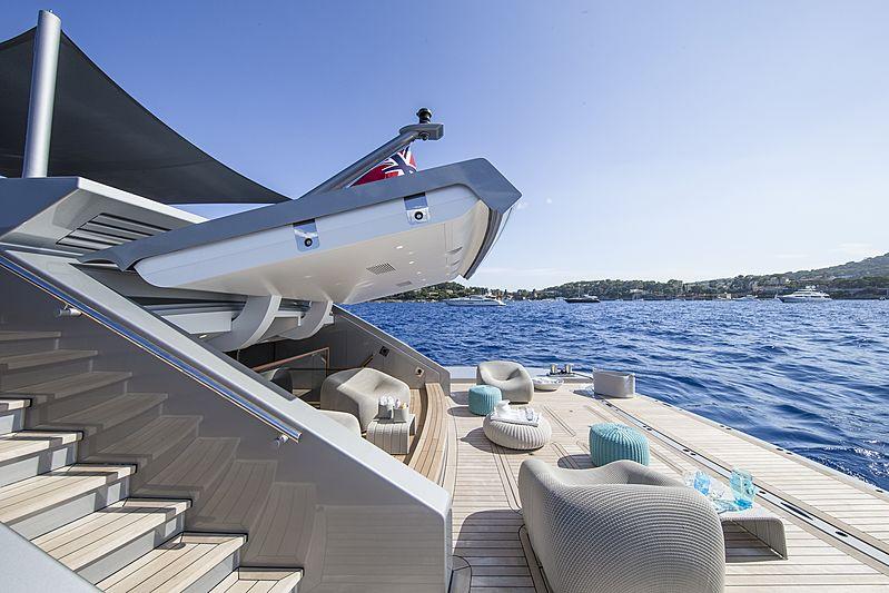 Silver Fast yacht beach club