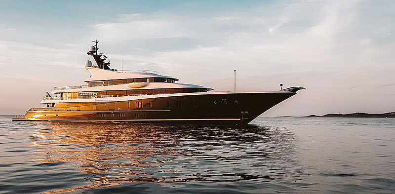 Phoenix2 yacht by Lürssen in Guernsey