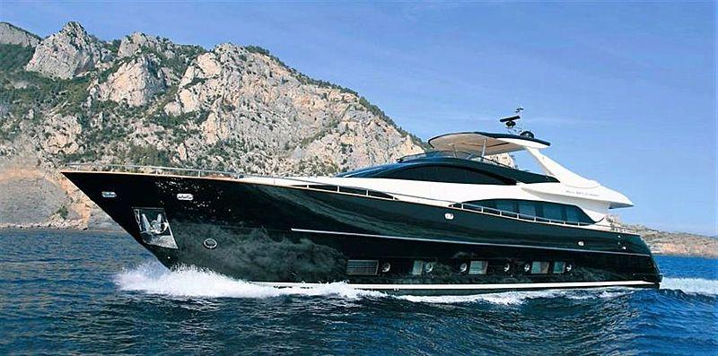 BLACK SWAN yacht Riva