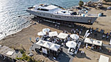 All About U 2 yacht launch