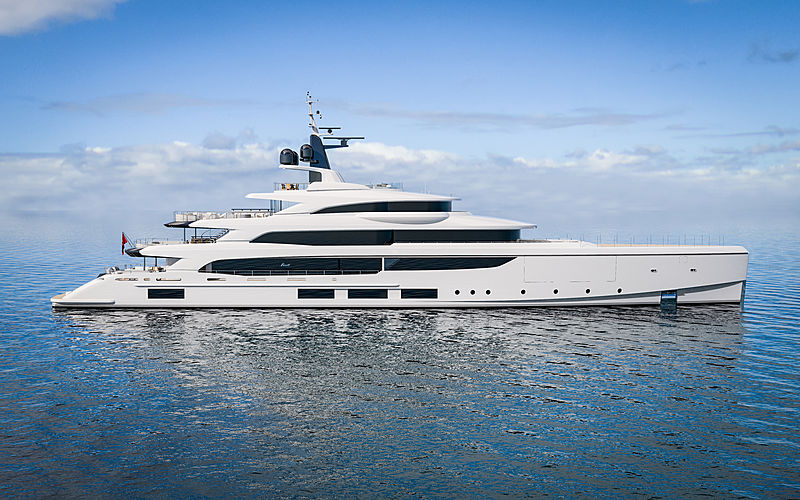 Benetti FB270 Vogue yacht exterior design