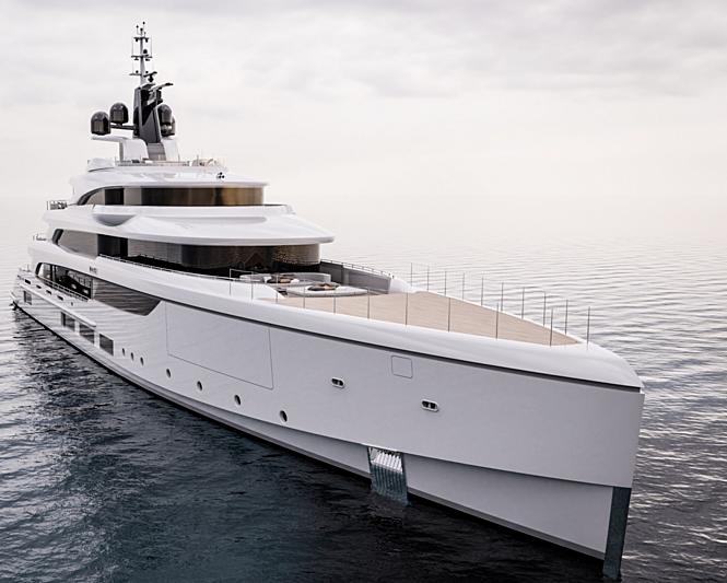 Benetti FB270 Vogue yacht exterior design