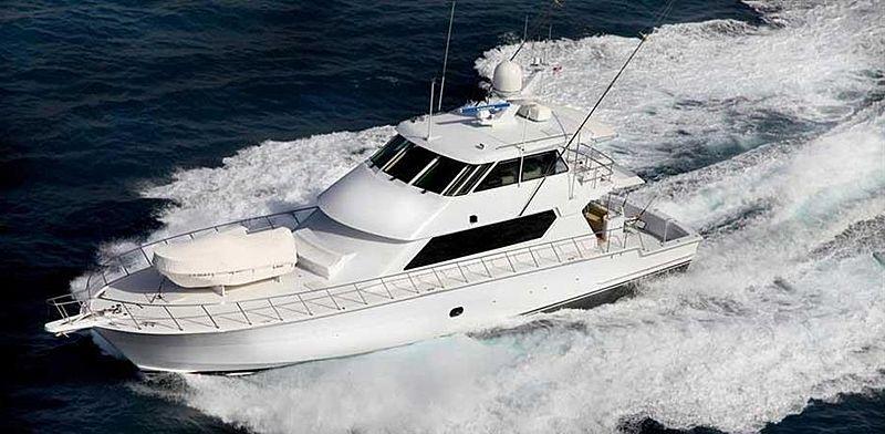 SPHEREFISH yacht Hatteras