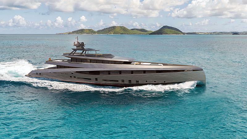 Saona yacht concept exterior design