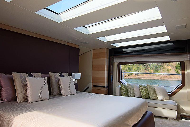 Estel yacht stateroom