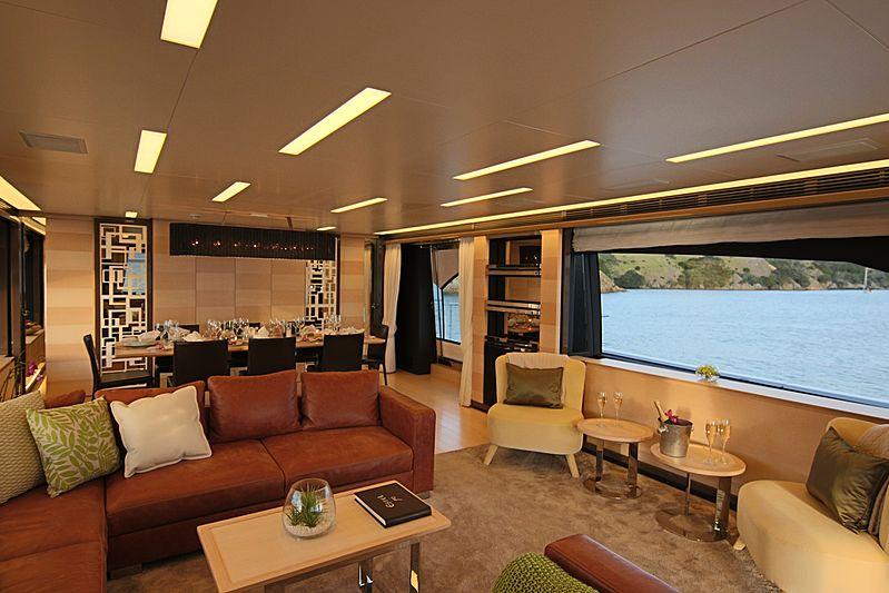 Estel yacht saloon