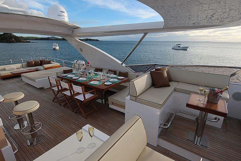 Estel yacht deck