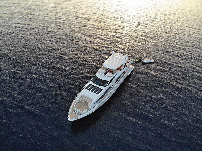 Estel yacht aerial