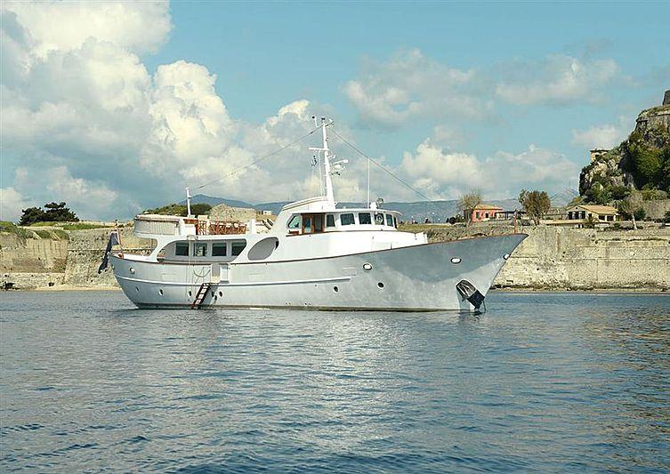 Vanilla yacht