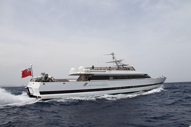 Shergar yacht cruising