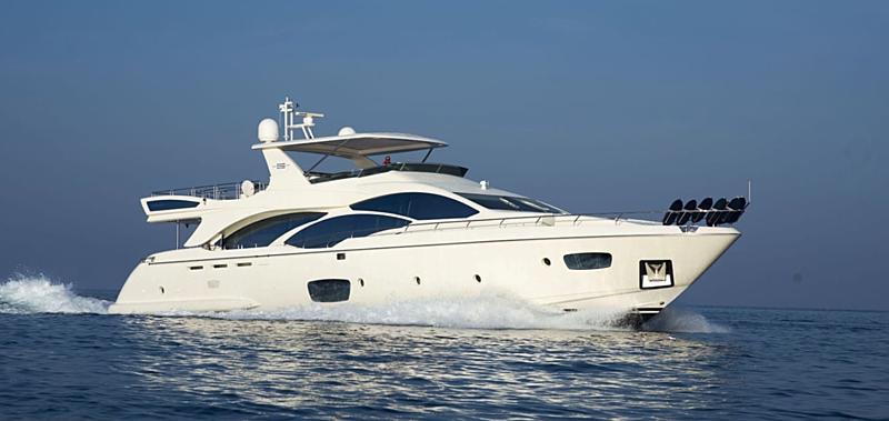 BAMBOO yacht Azimut