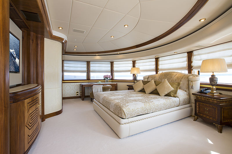 Alaska of George Town yacht stateroom