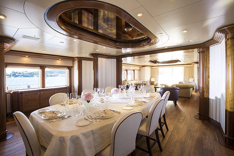 Alaska of George Town yacht dinning
