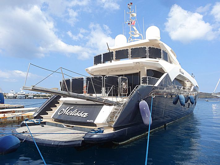 Melissa yacht in Yalikavak Marina