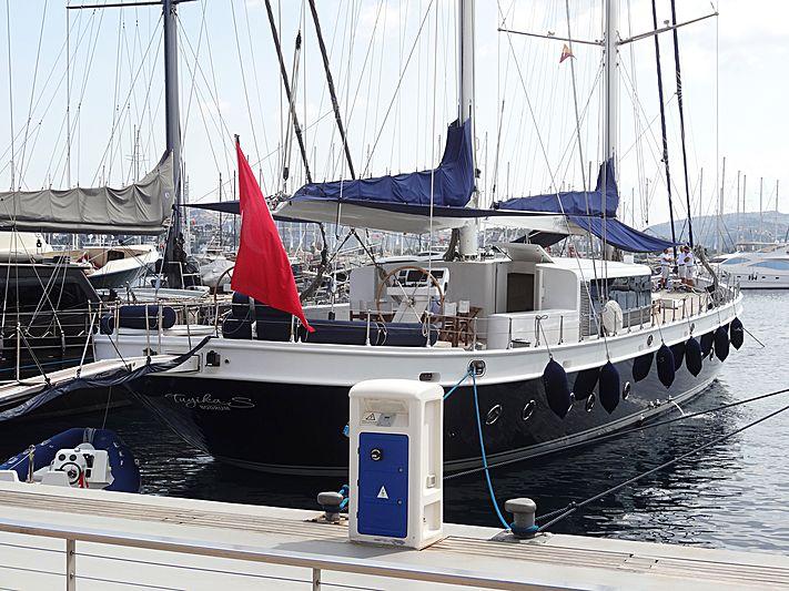 Tuyika S yacht in Yalikavak Marina