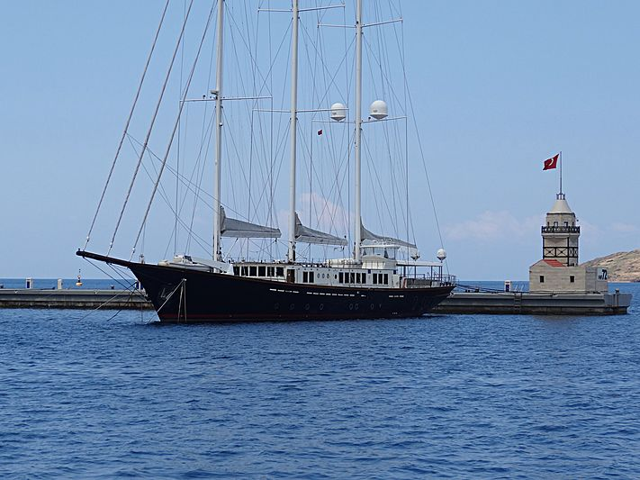 Hazar Yildizi yacht in Yalikavak Marina
