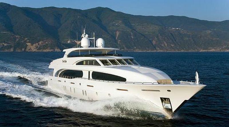 Yiva Mas yacht cruising