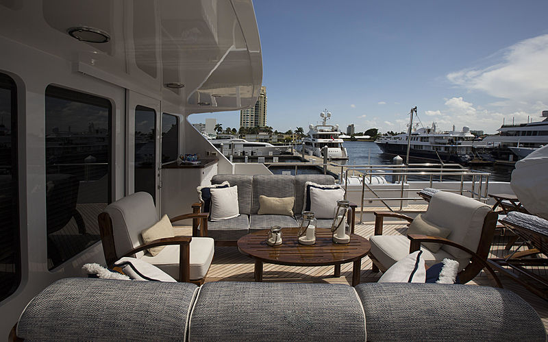Life of Reilley yacht deck