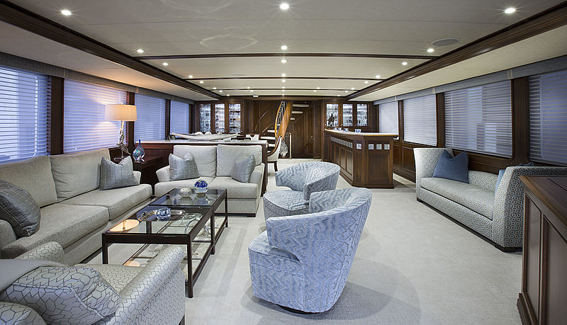 Life of Reilley yacht saloon